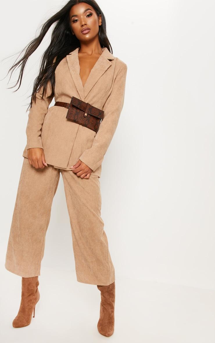 Stone Cord Trouser