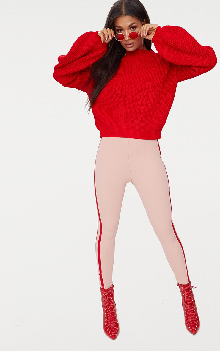 Red Balloon Sleeve Jumper 4