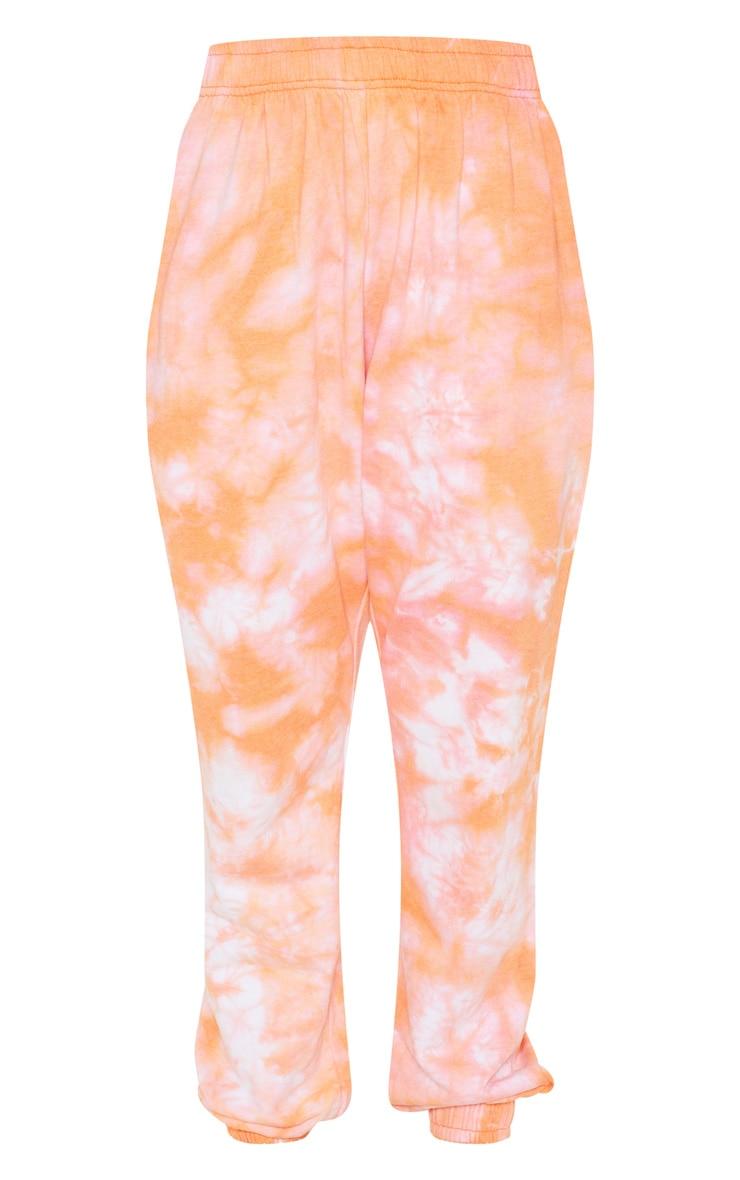 Orange Tie Dye Jogger 3
