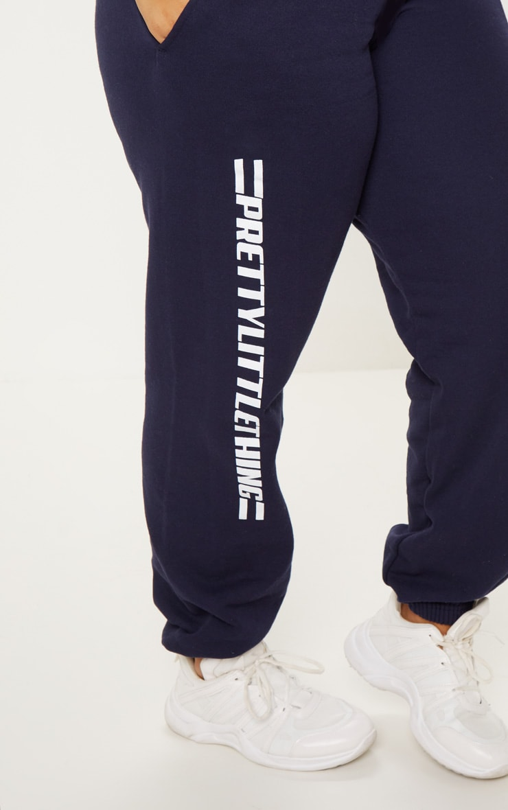 PRETTYLITTLETHING Plus Navy Casual joggers 5