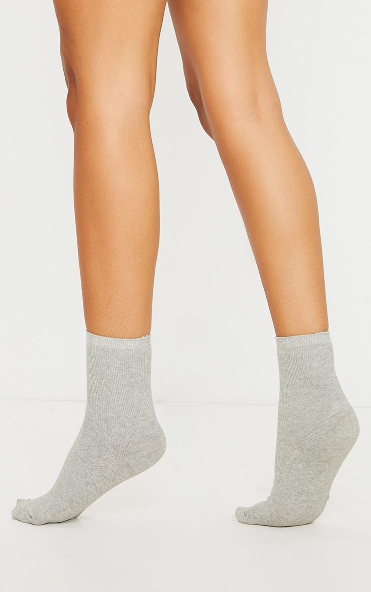 Grey Sports Sock 2