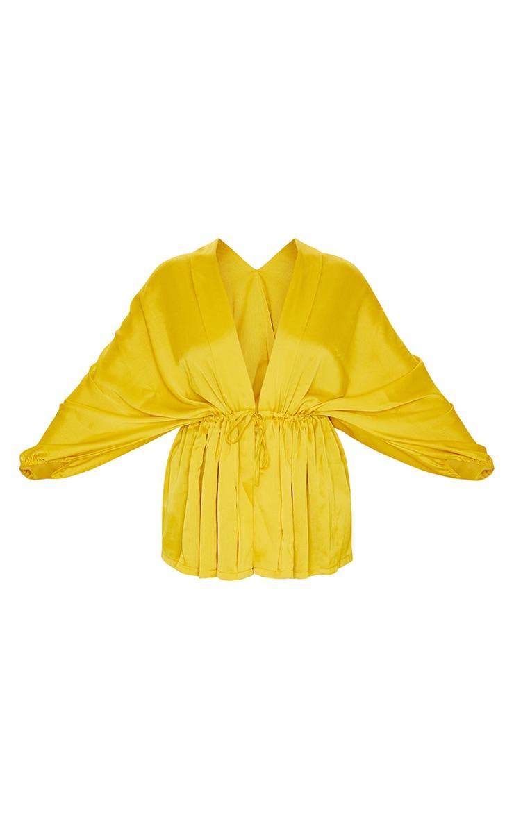 Golden Yellow Kimono Top 5