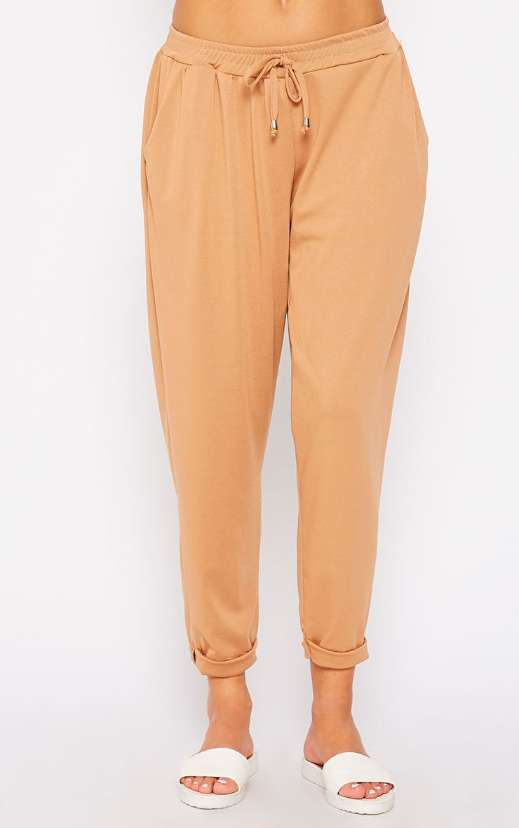 Connie Camel Trousers 2