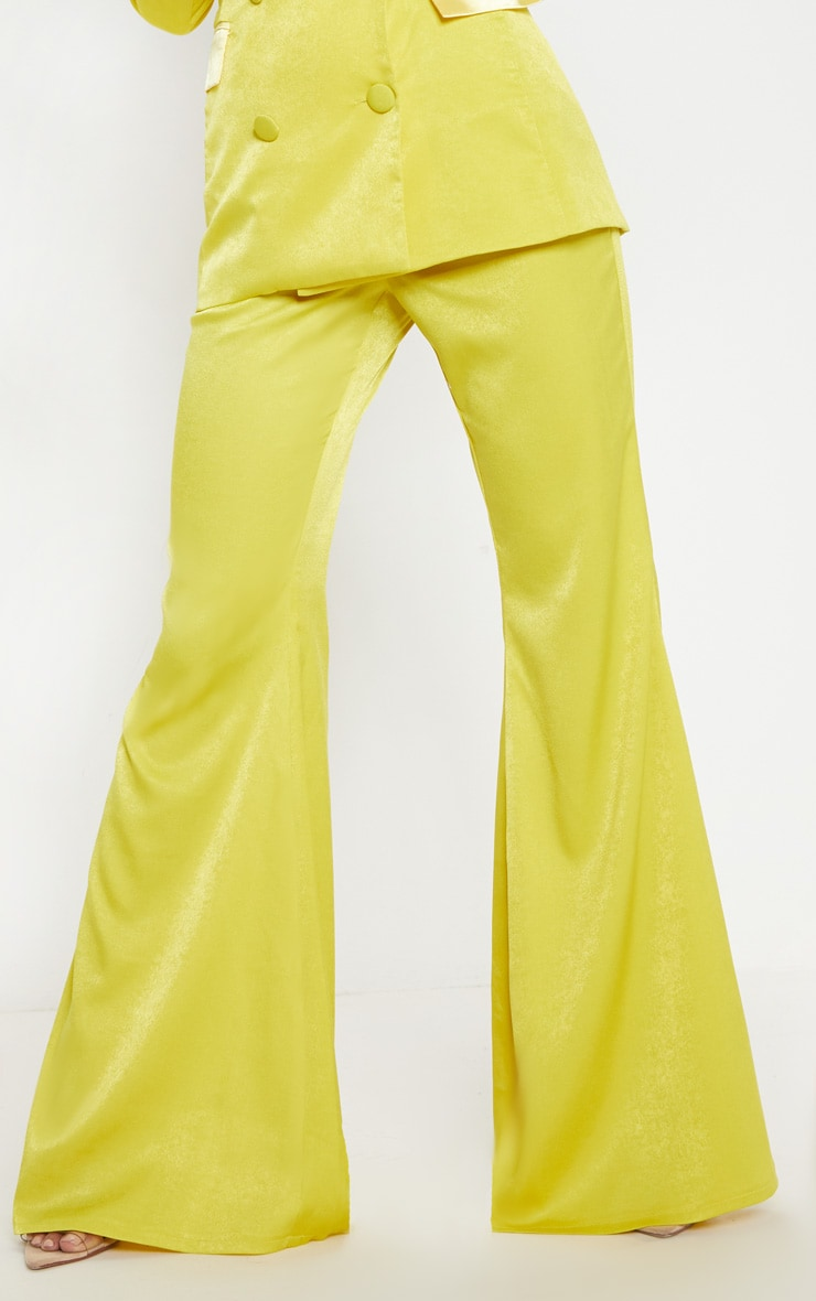 Lime Tailored Extreme Flared Trouser 5