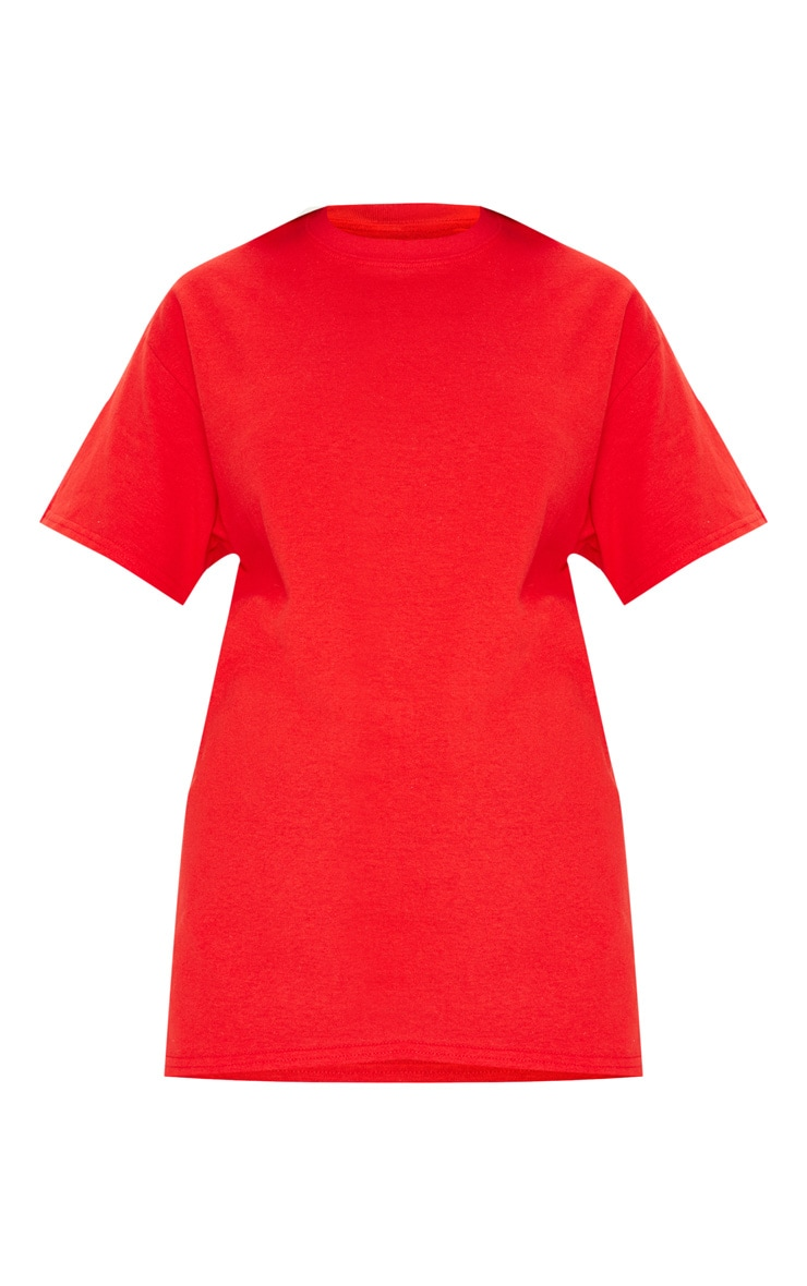 Red Boyfriend T Shirt 3