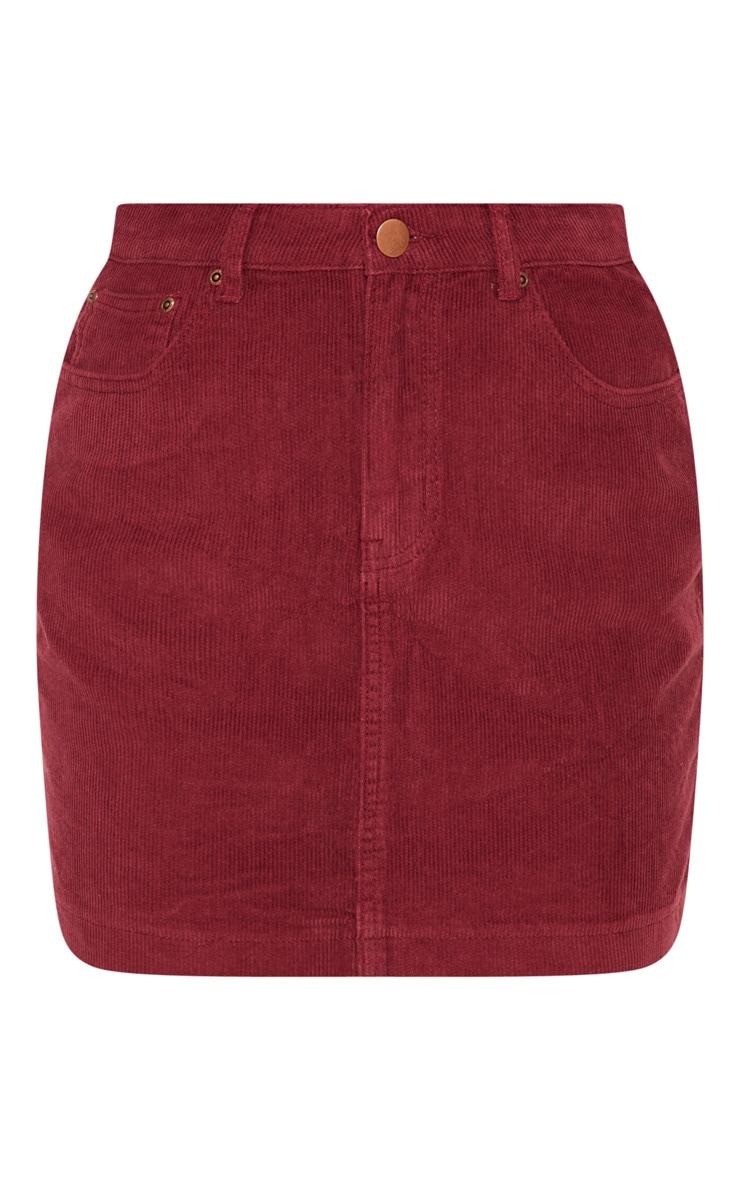 Berry Cord Skirt 3