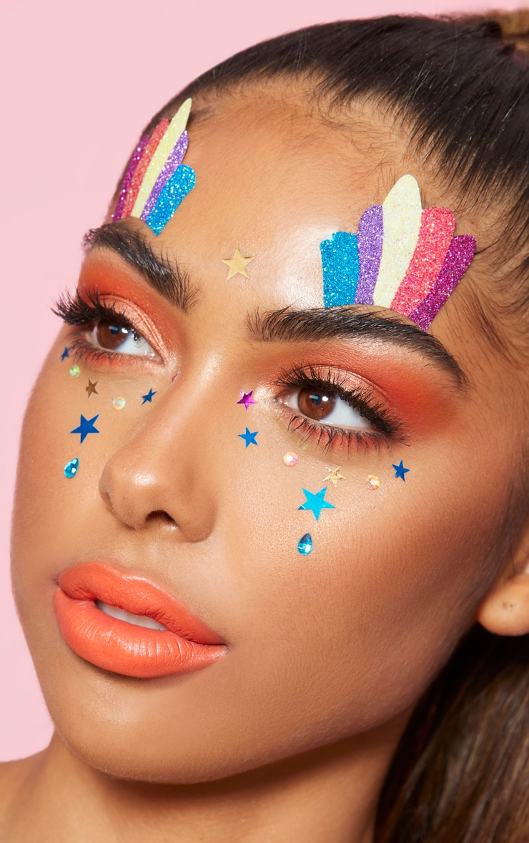 PRETTYLITTLETHING Star Face Jewels 2