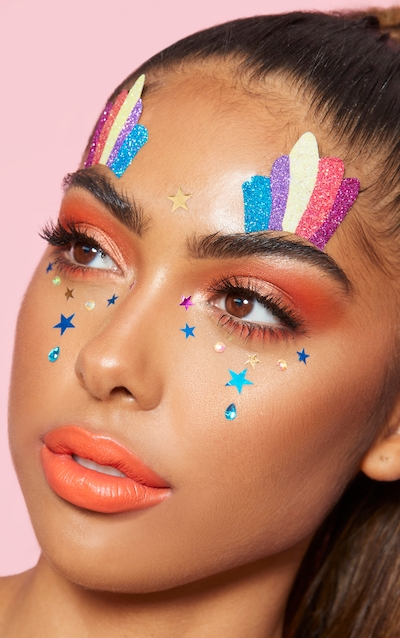 PRETTYLITTLETHING Star Face Jewels