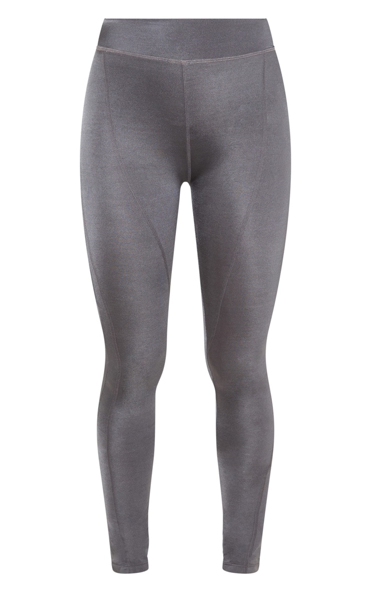 Charcoal High Waisted Sports Legging 3