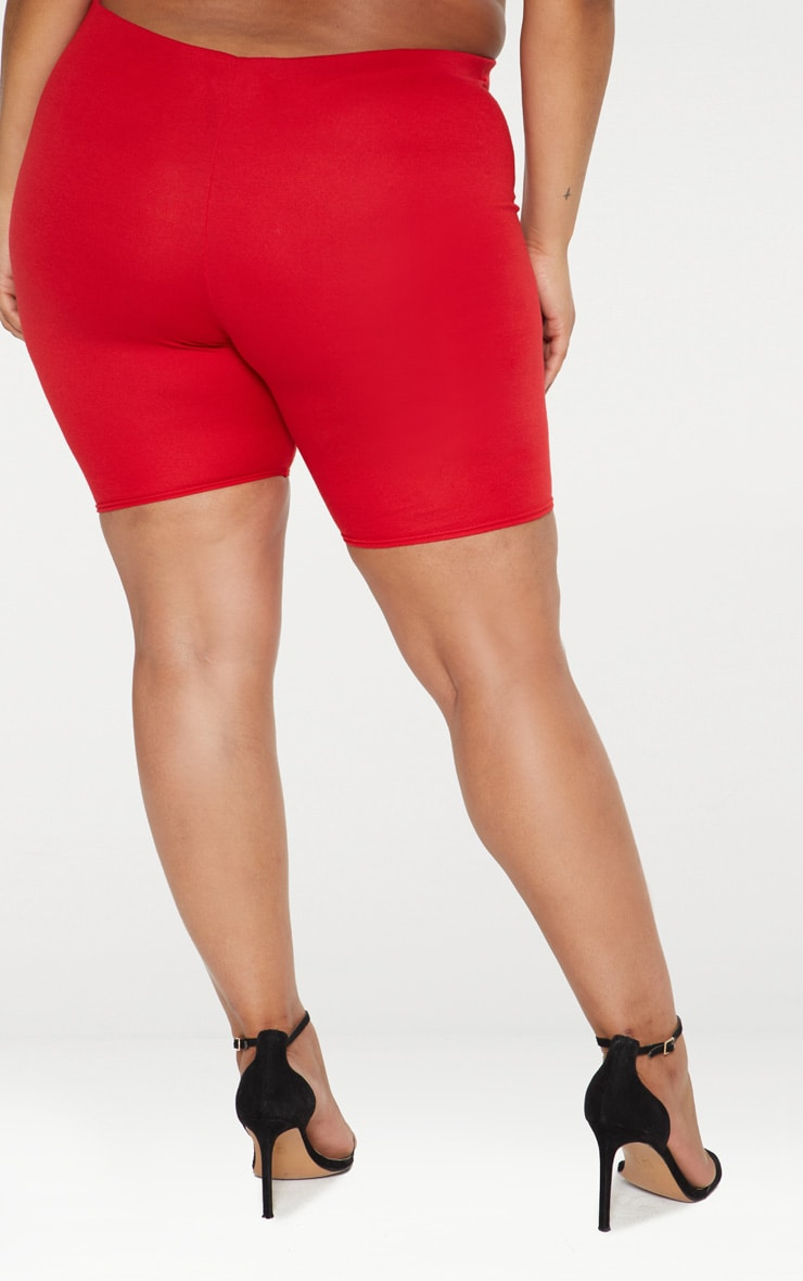 Plus Red Cycling Shorts 3