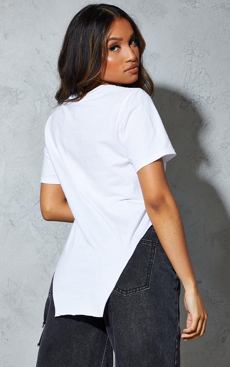 Petite White Heavensent Graphic T Shirt 2