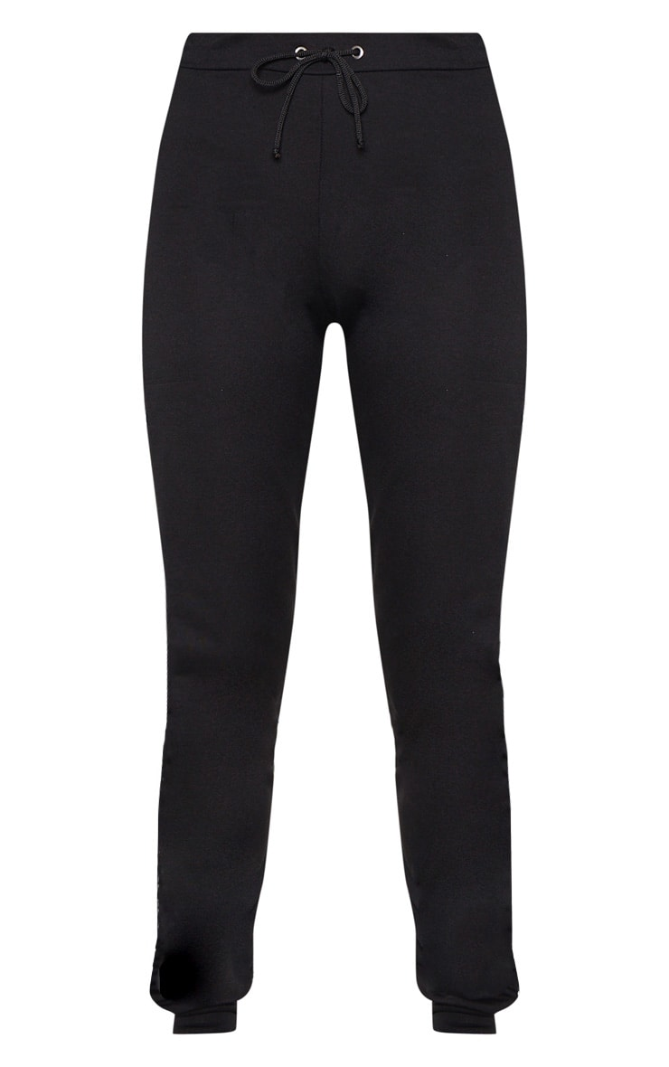 PRETTYLITTLETHING Tall Black Joggers 3