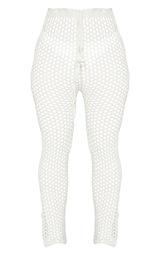 White Crochet Pants 6