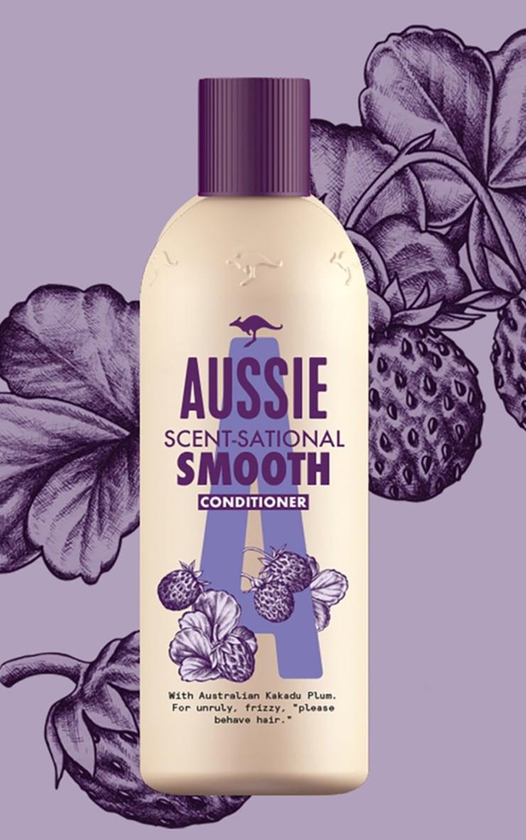 Aussie Scentsationally Smooth Shampoo 500ml 2