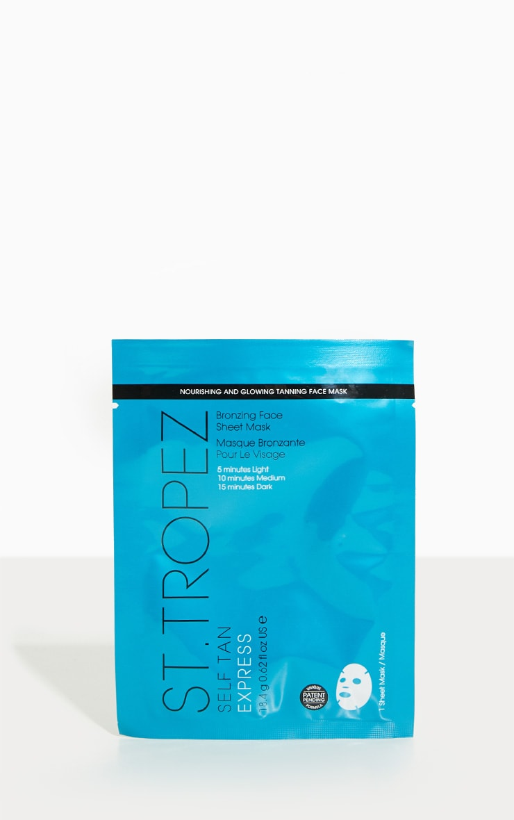 St. Tropez Self Tan Express Face Sheet Mask