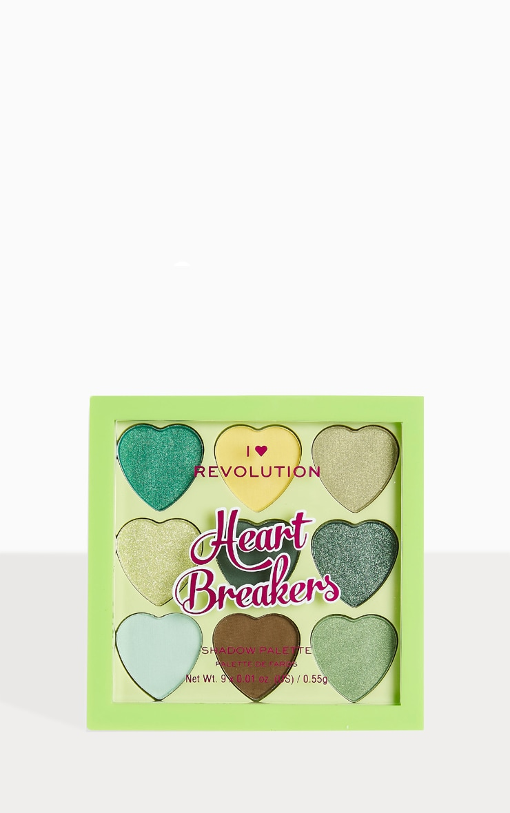 I Heart Revolution Heartbreakers Eyeshadow Palette Lucky 2