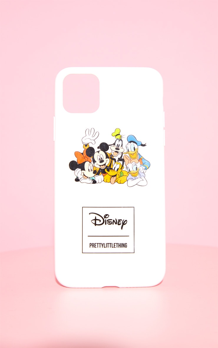 PRETTYLITTLETHING White Disney iPhone 11 Pro Max Case 1