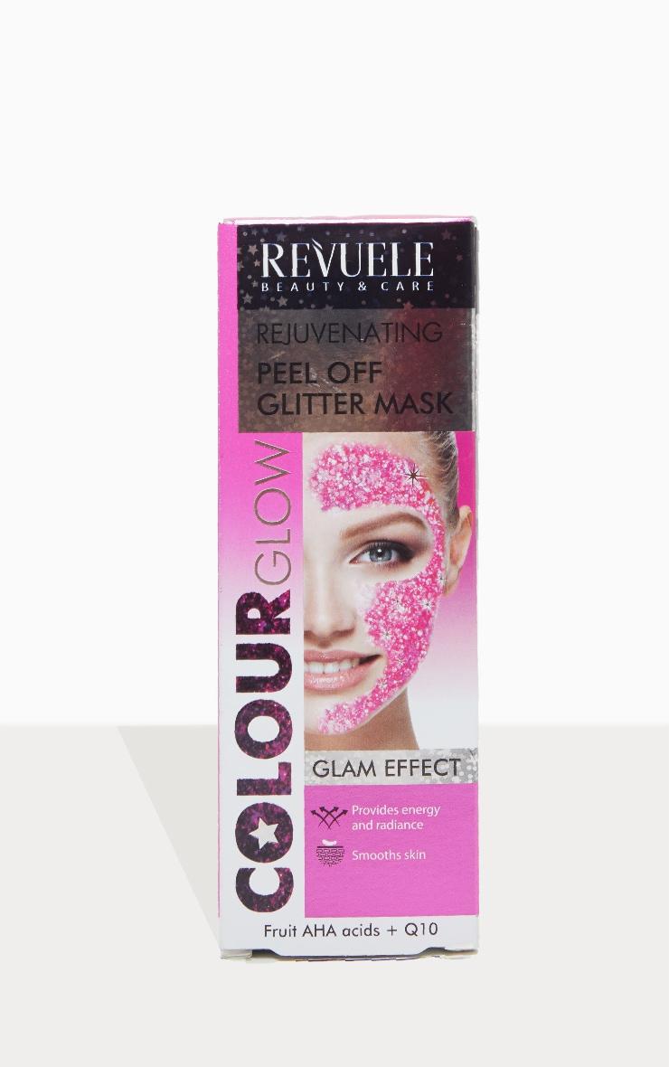 Rejuvenating Peel Off Pink Glitter Mask 4