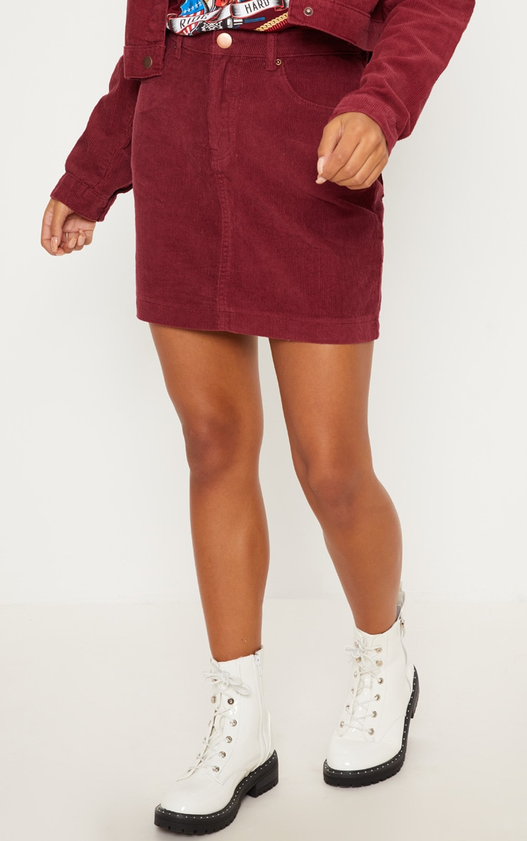 Berry Cord Skirt 2