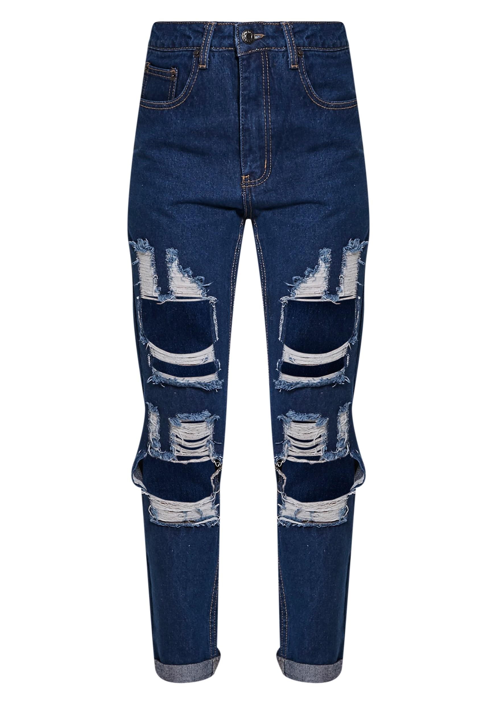 Marri Blue Extreme Rip Jeans 3