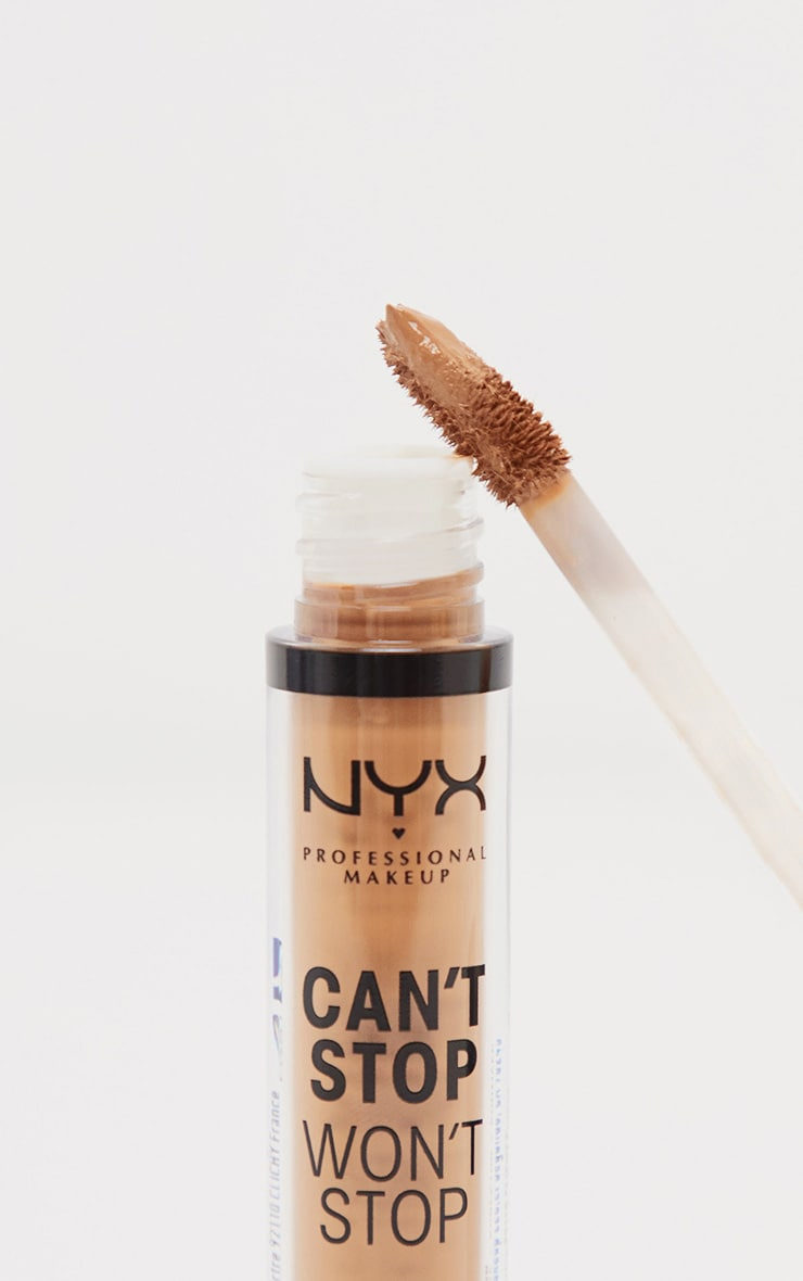 NYX Professional Makeup Can't Stop Won't Stop Contour Concealer Medium Olive 2