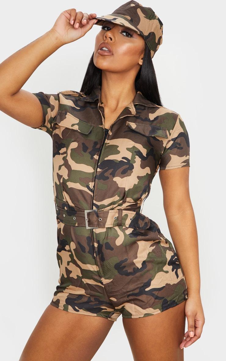 Premium Sexy Army Girl 1
