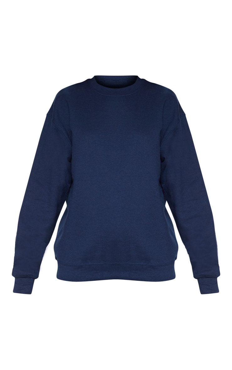 Navy Ultimate Oversized Sweater 3