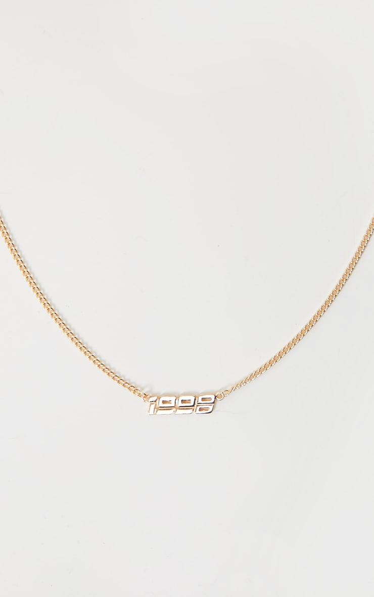 Gold 1998 Necklace 4