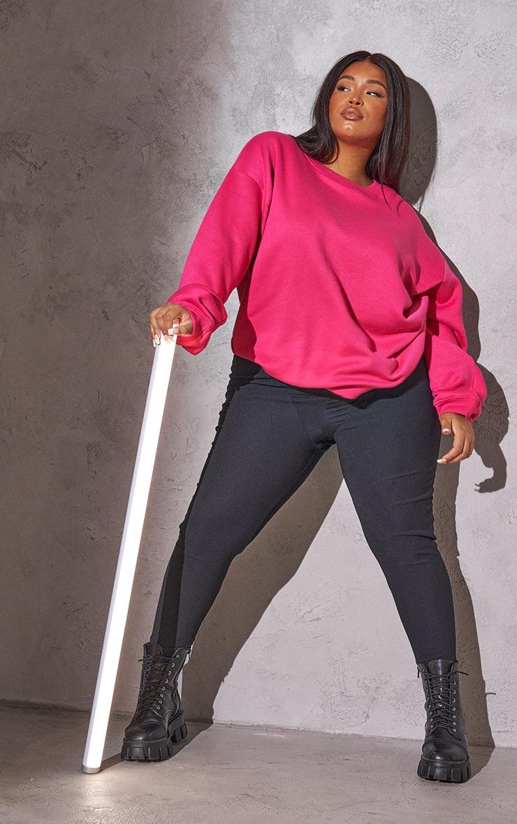 RENEW Plus Pink Oversized Sweater 3