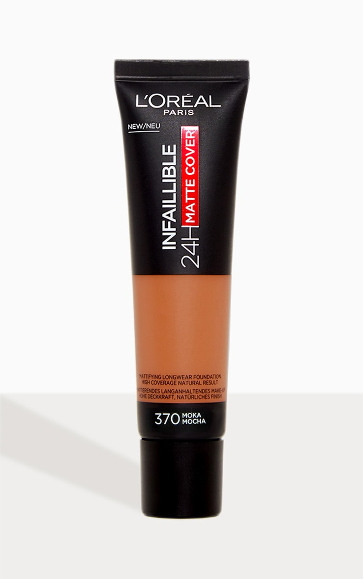 L'Oreal Paris Infallible 24hr Matte Cover Foundation 320 Caramel Toffee image 1