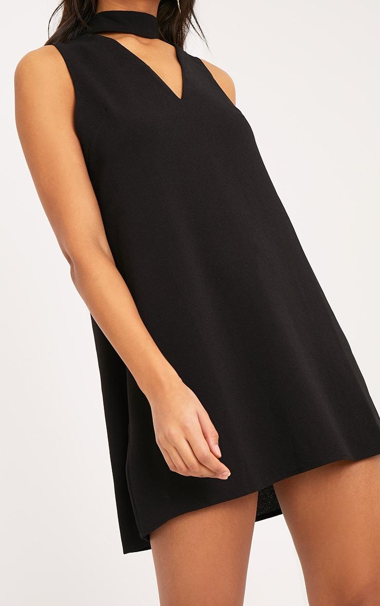 737b30a8e33c Cinder Black Choker Detail Loose Fit Dress image 5