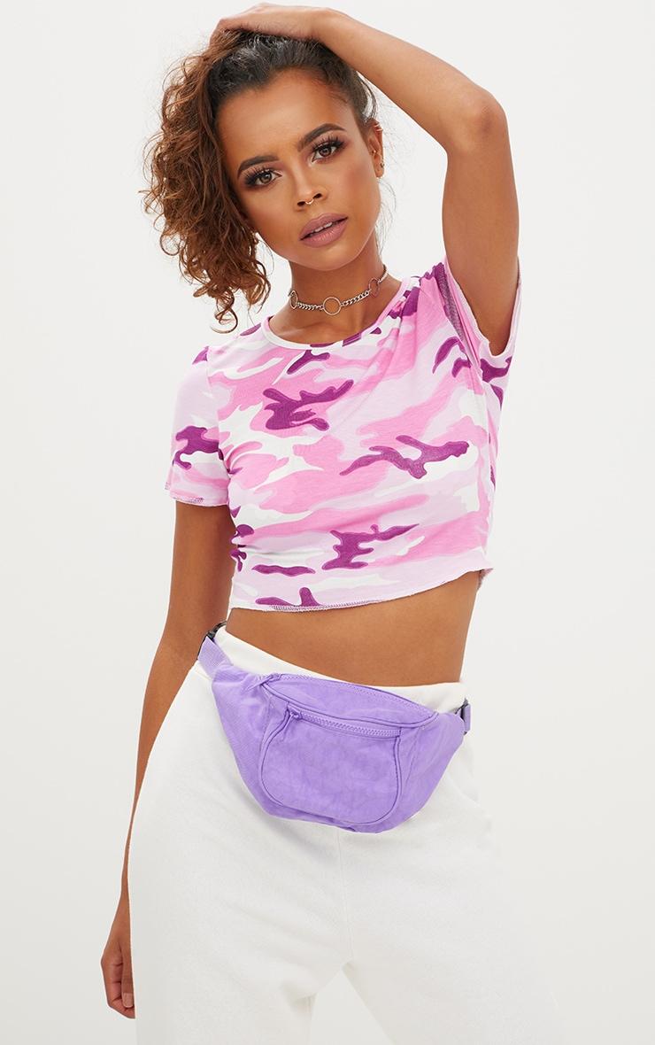 Purple Bum Bag 1