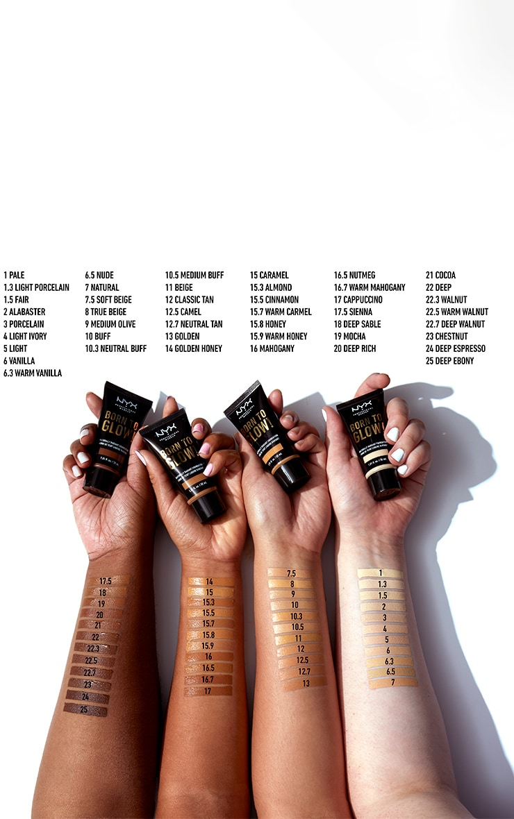 NYX PMU Can't Stop Won't Stop Full Coverage Foundation Golden 4
