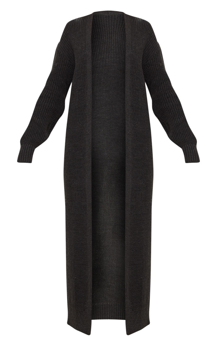 Long cardigan anthracite 3