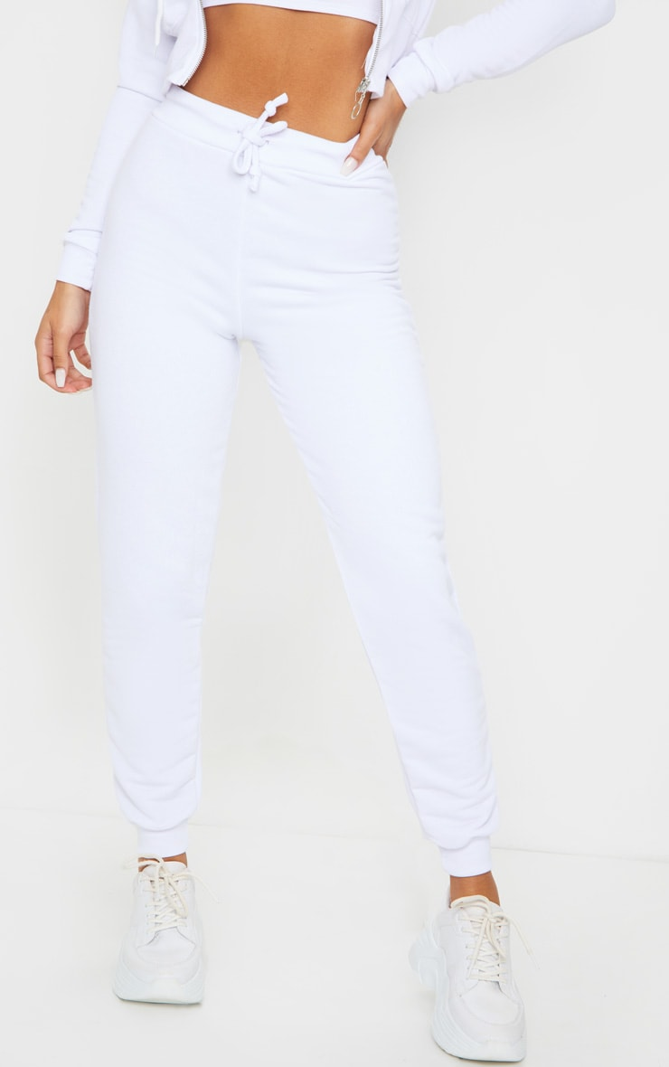 White Ultimate Sweat Joggers 2