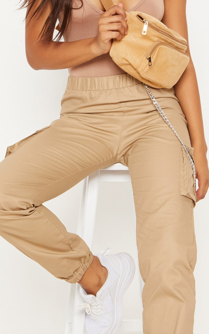 Tall Stone Pocket Detail Cargo Trousers 5