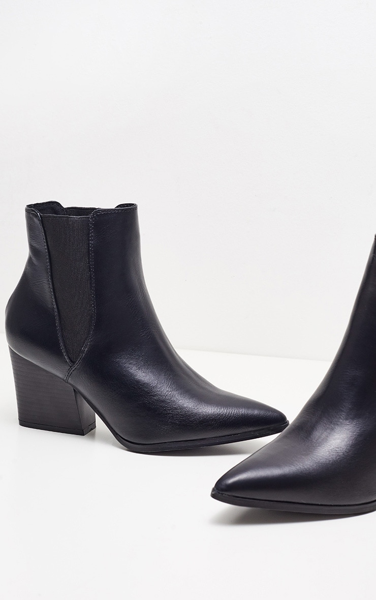 Black Point Chelsea Western Boot PU 4
