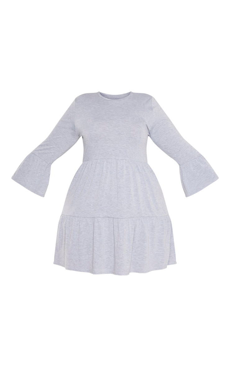 Plus Grey Shift Dress  3