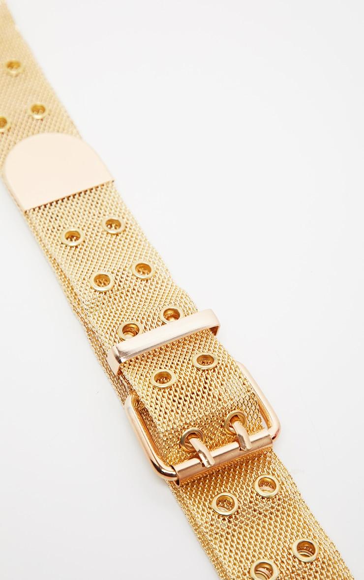 Gold Chainmail Waist Belt 3