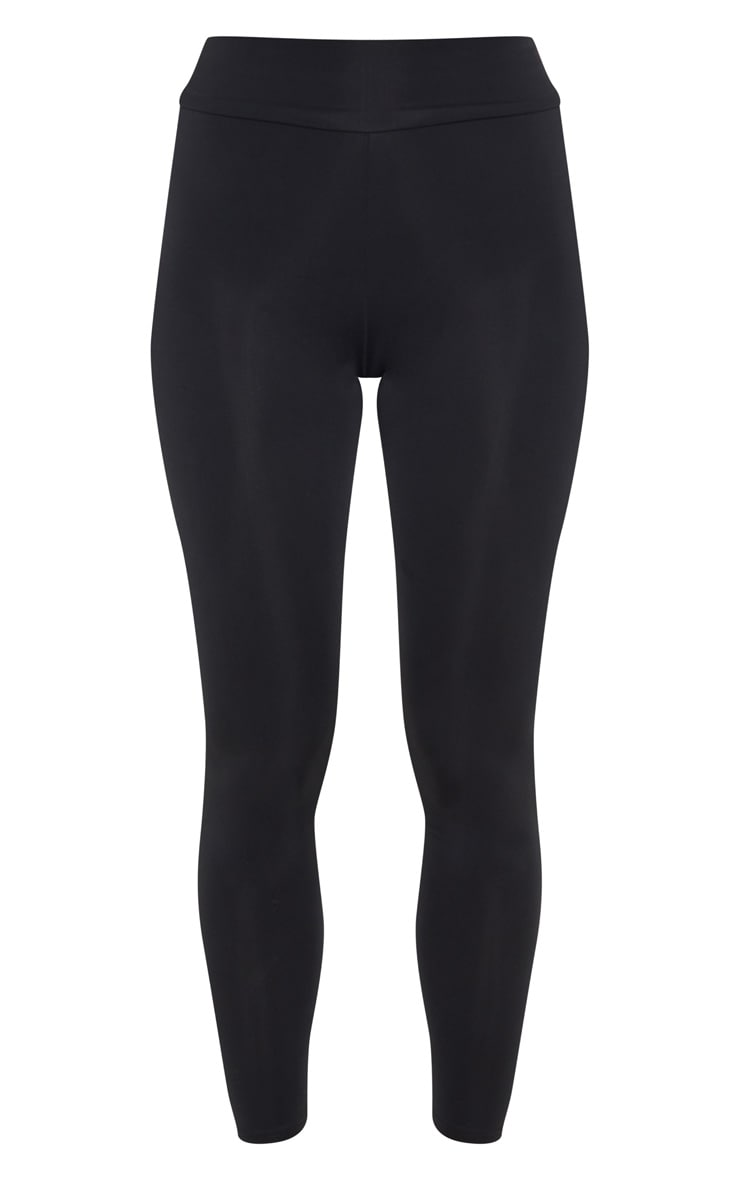 Black Basic Gym Legging 3