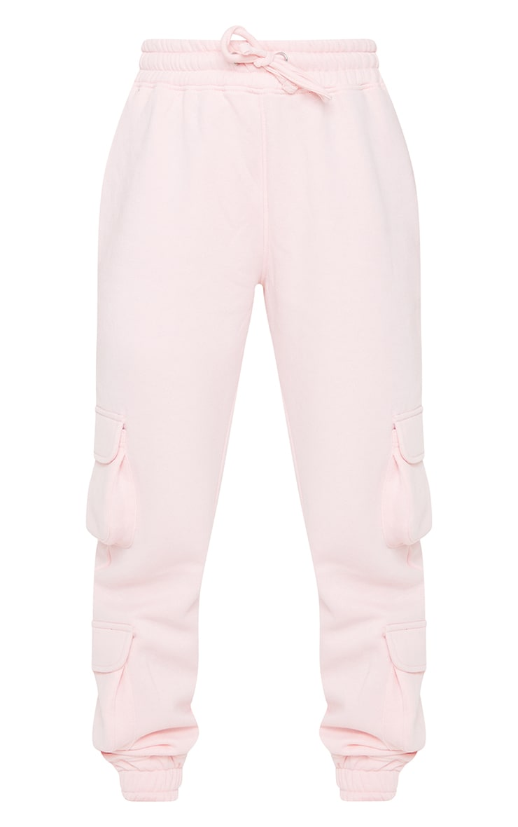 Pink Pocket Detail Joggers 5