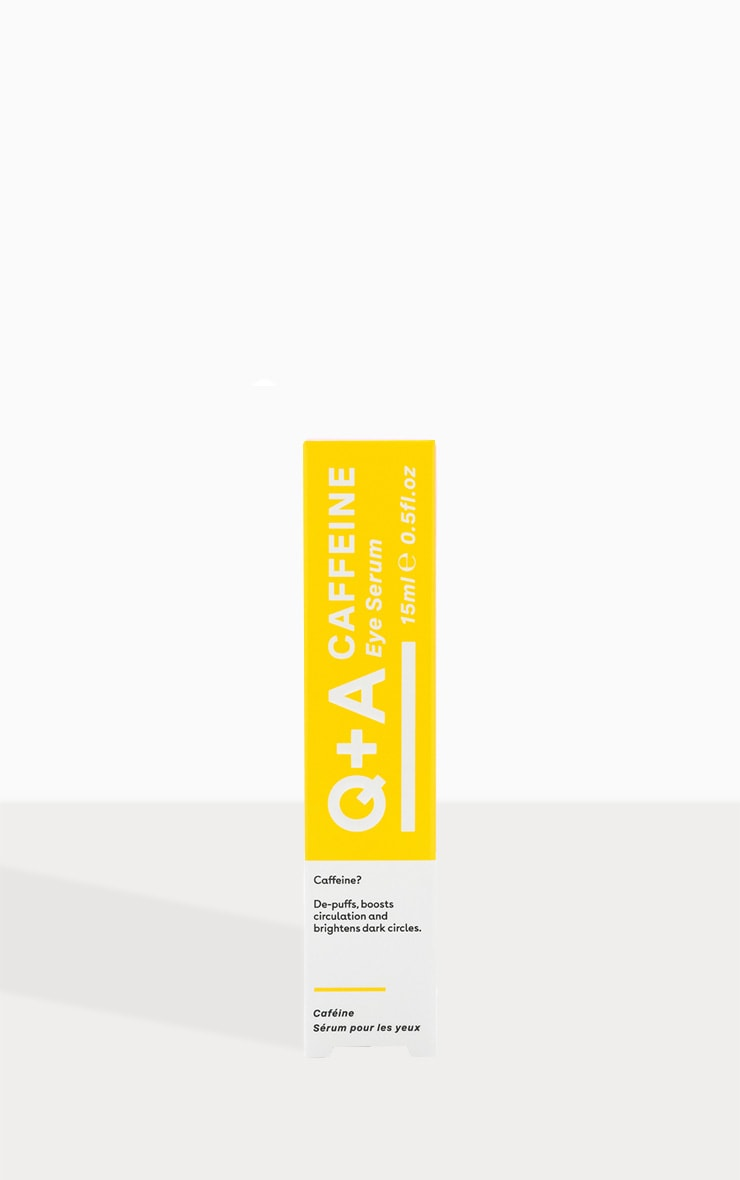 Q+A Caffeine Eye Serum 15ml 2