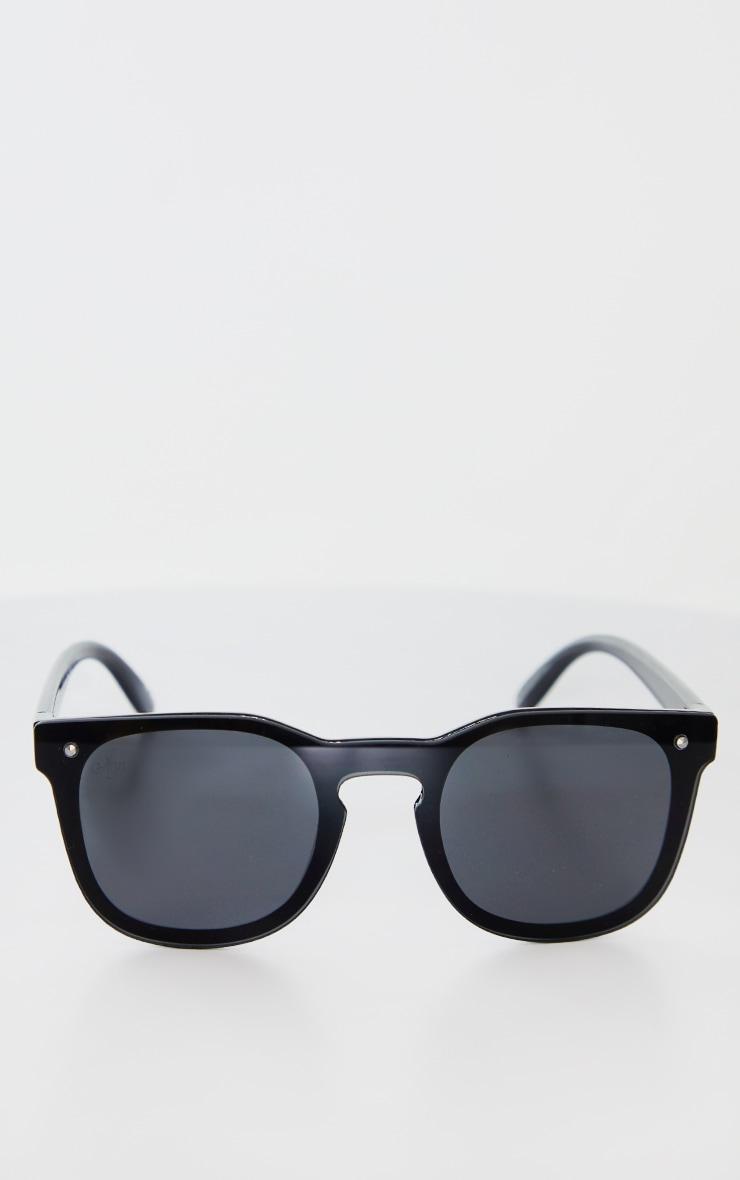 Jeepers Peepers Black Retro Sunglasses 2