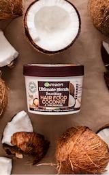 Garnier Ultimate Blends Hair Food Coconut Oil 3-in-1 Frizzy Hair Mask 1