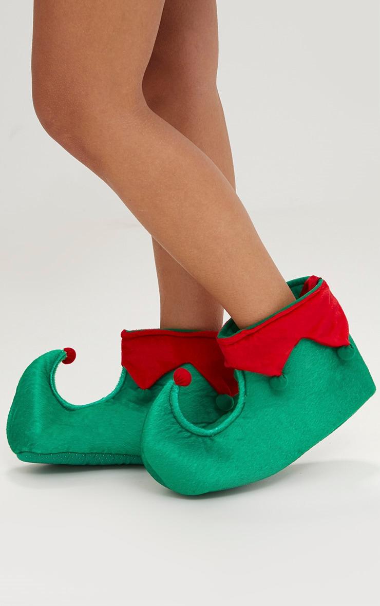 Green Elf Slippers 2