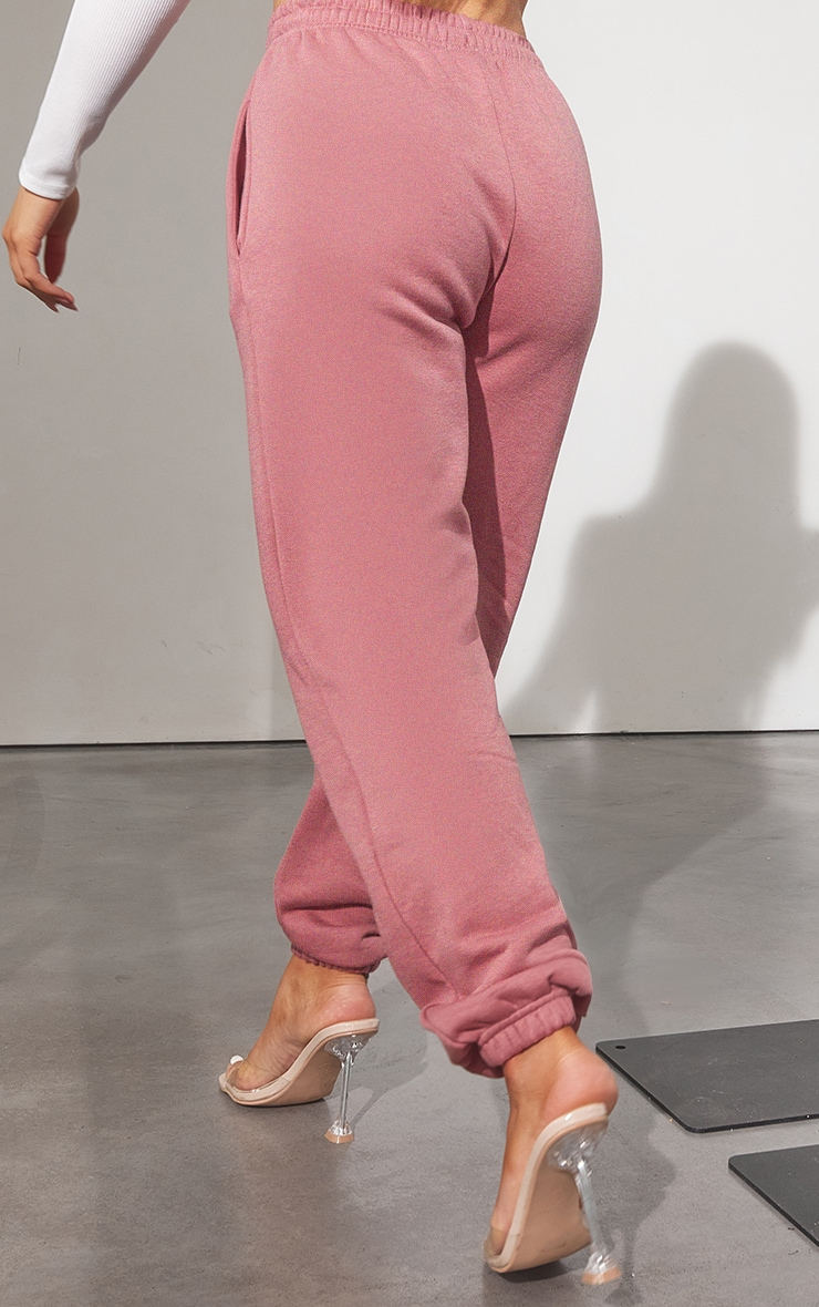 RENEW Washed Red Sweat Pant Joggers 3
