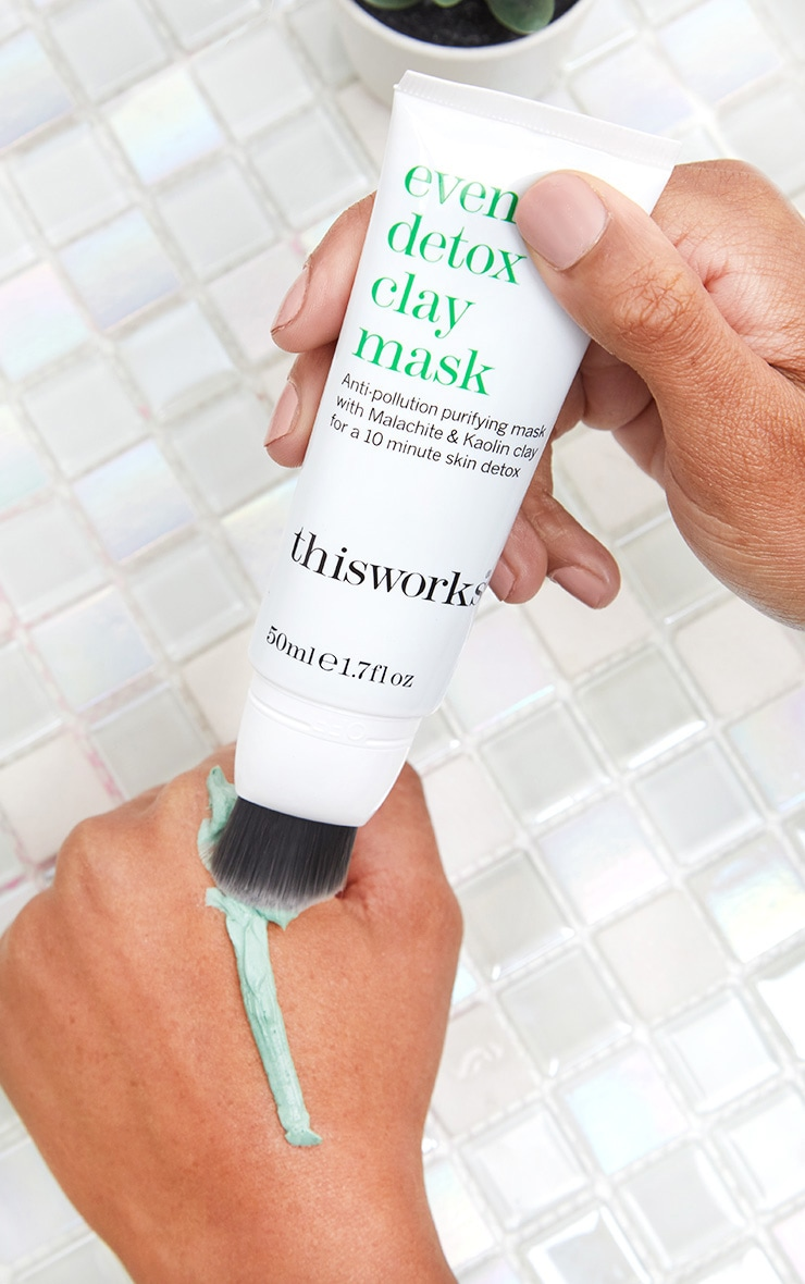 This Works Evening Detox Clay Face Mask 50ml 2