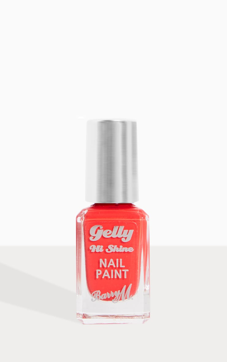 Barry M Gelly Hi Shine Nail Paint Passion Fruit 2