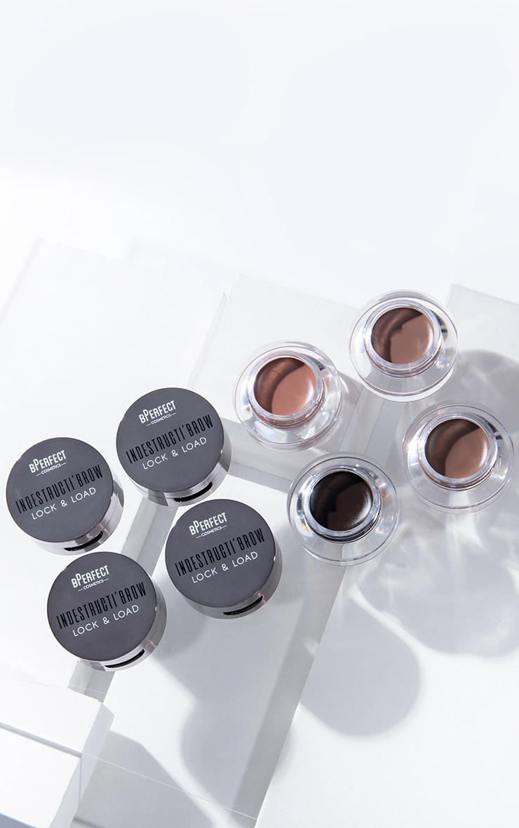 BPerfect Cosmetics Indestructi'brow Lock & Load Eyebrow Pomade Duo Irid Brown 3