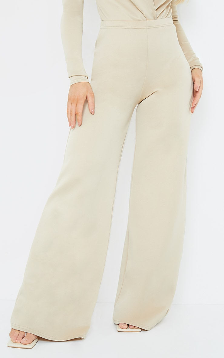 Stone Scuba Wide Leg Pants 2